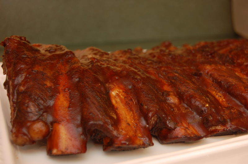 What I love to make... Ribs!