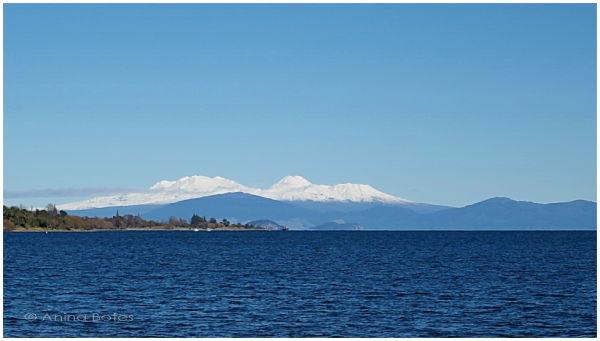 Lake Taupo, Mount Ruapehu