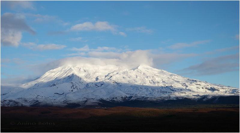Mount Ruapehu, Snow, Desert Road