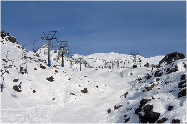 Whakapapa Skifield, Snow, Chair lifts