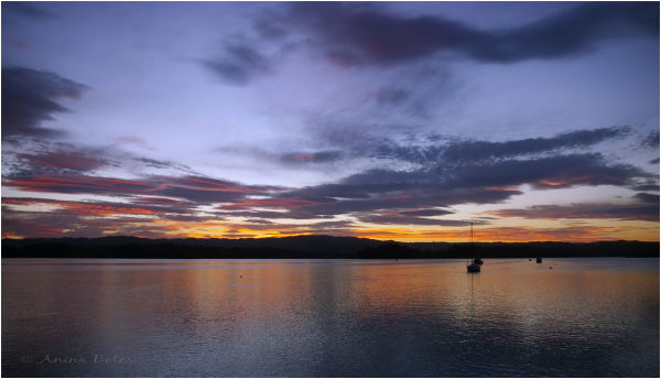 Twilight, Port Ohope Wharf, Sunset