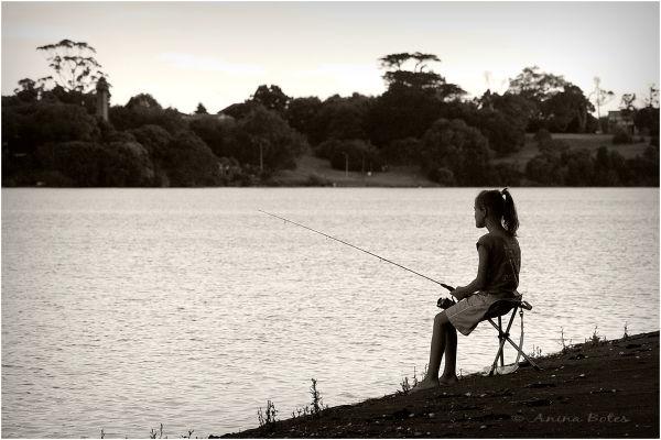 Fishing, Anja