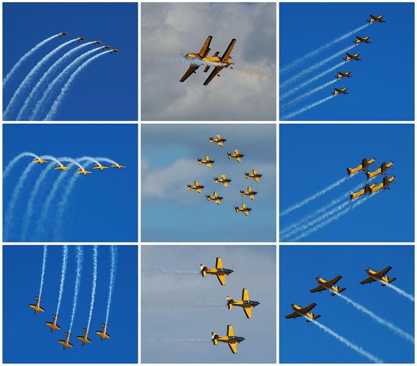 Red Checkers, RNZAF, Air Show