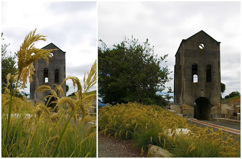 Pumphouse, Historic, Old, Waihi, NZ