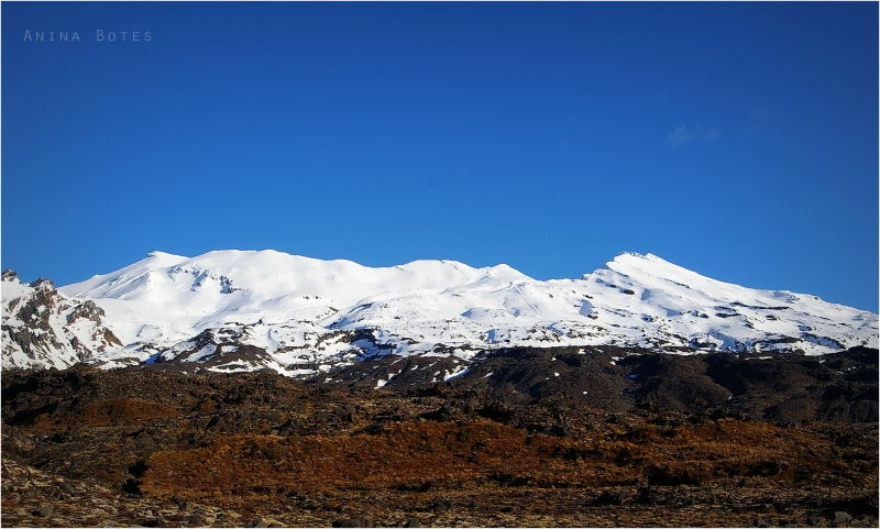 Winter, Landscape, Snow, Mount Ruapehu, NZ