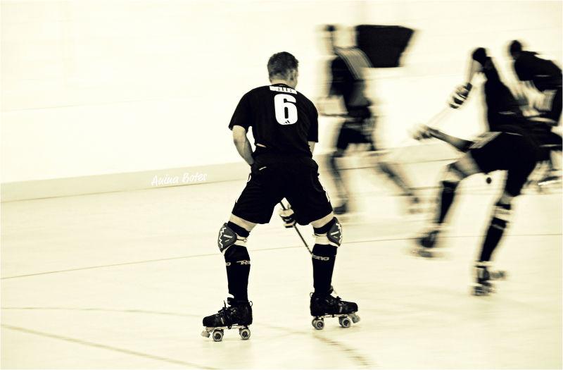 NZ Roller Hockey, Sepia, Action, Sport, Speed
