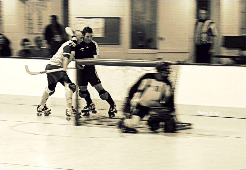 NZ Roller Hockey, Australia, Test Match, Sepia,