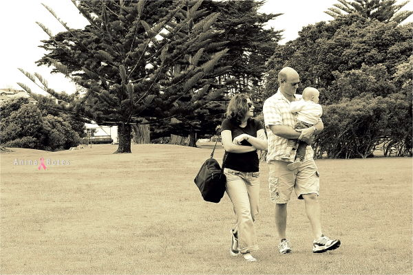 Family, Park, Walk, NZ