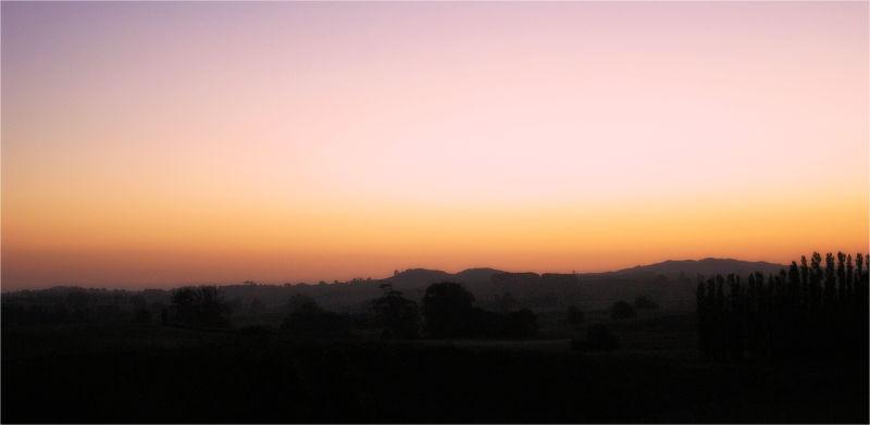 Sunset, NZ