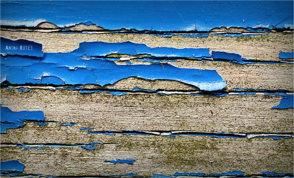 Blue, Old, Paint, Textures, Wood, 50mm, Macro