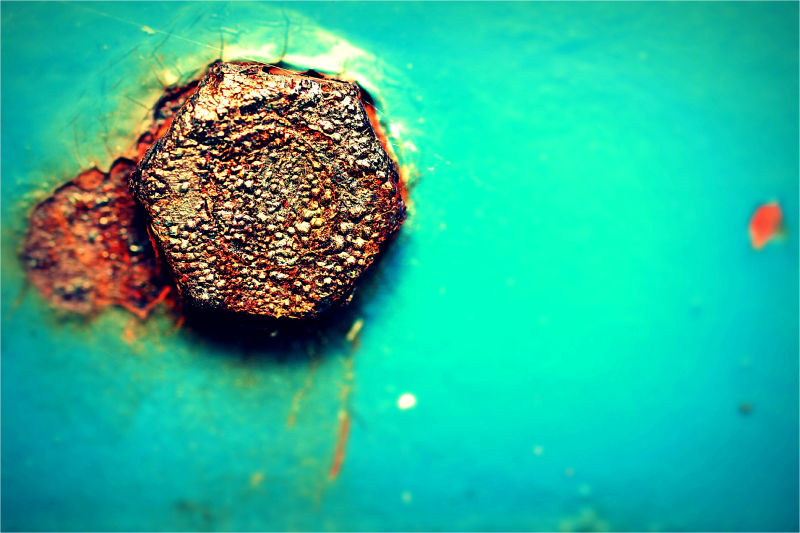 Old, Rust, Macro, 50mm