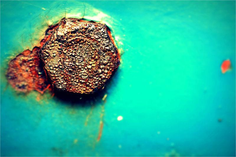 Old, Rust, Macro, 50mm