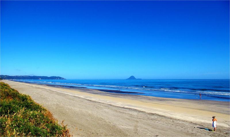 Beach, Summer, Ohope