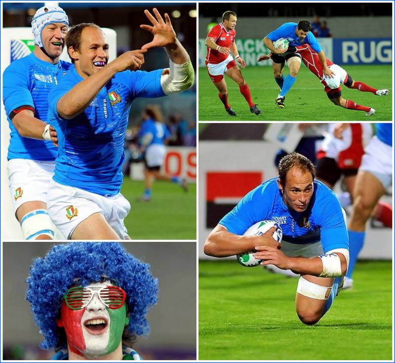 Italy, rugby