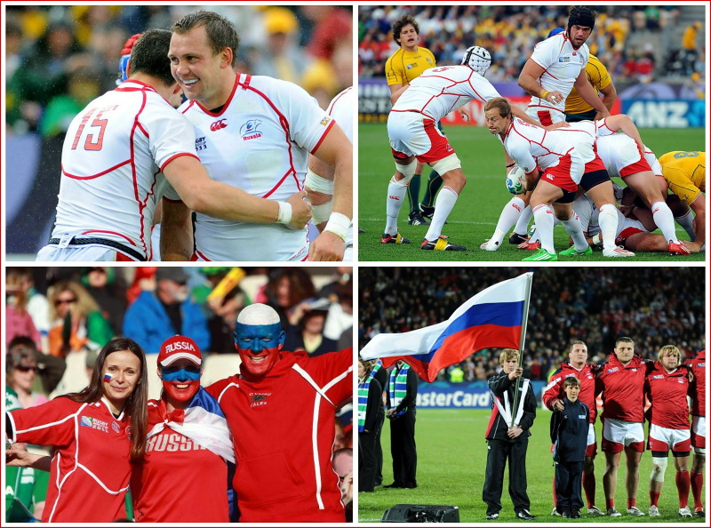 Russia, rugby