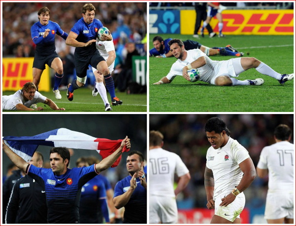 France, England, rugby
