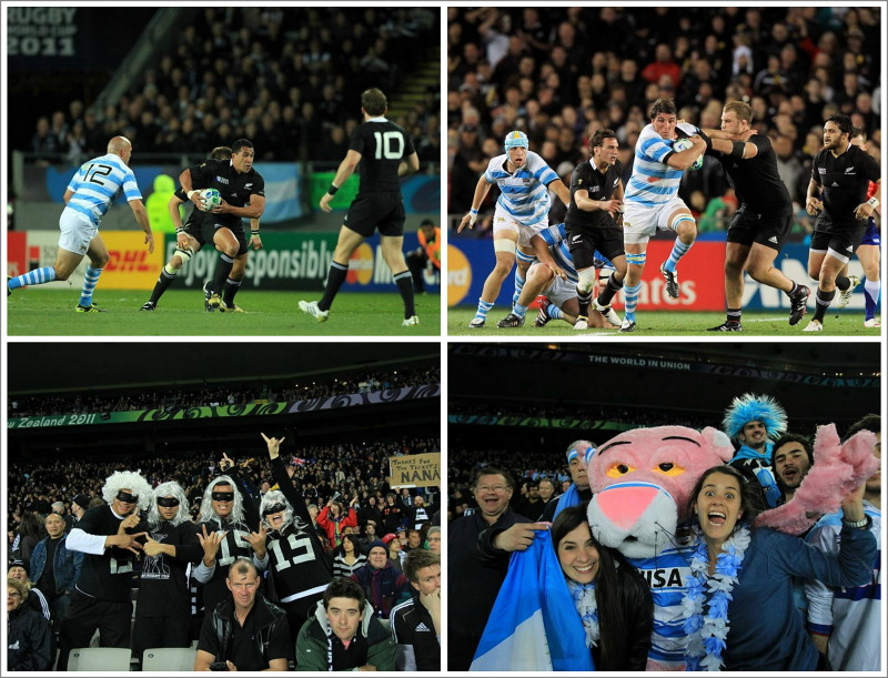 New Zealand, Argentina, rugby