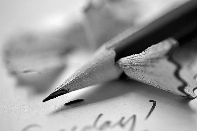 pencil, macro