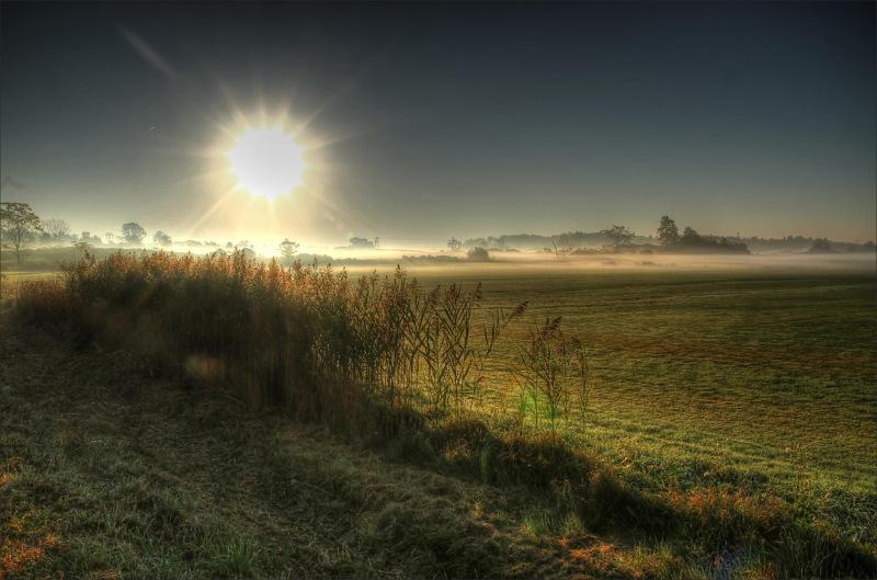 landscape, winter, sun, colorspotlight