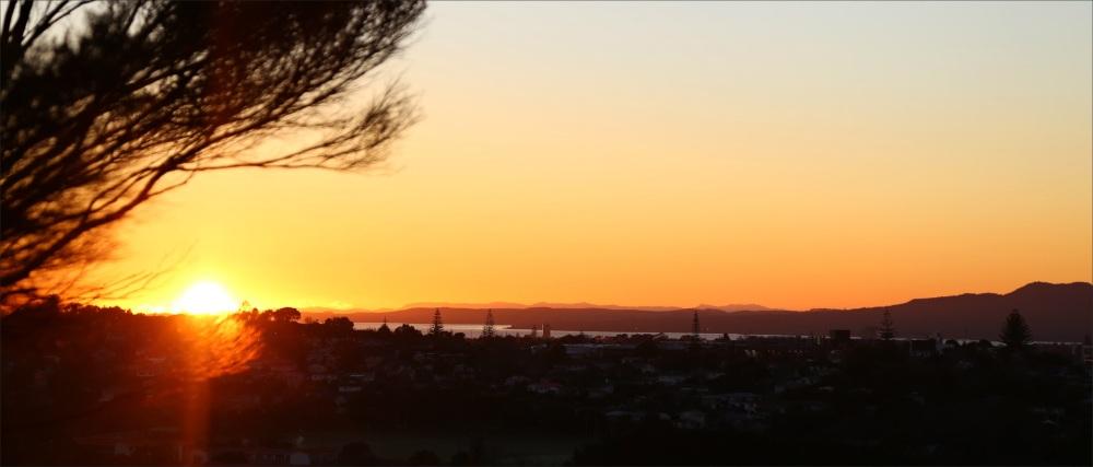 sunrise, auckland, NZ, new-zealand, 6D