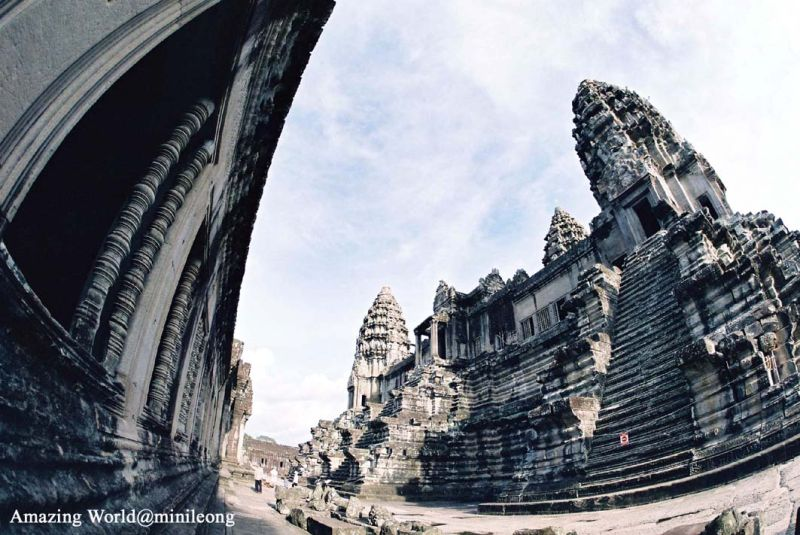 a shot while travel in Angkor Wat, Cambodia