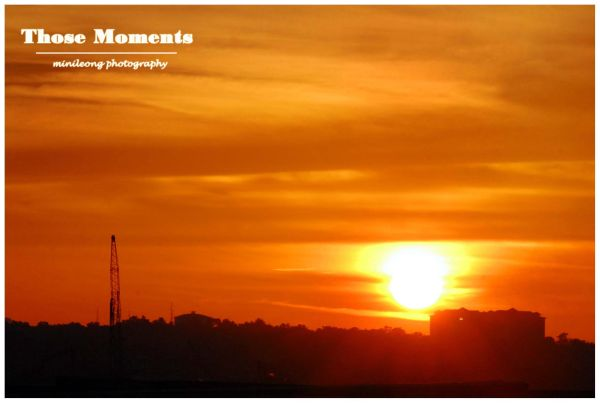 Sunset Danga Bay 29.08.2010