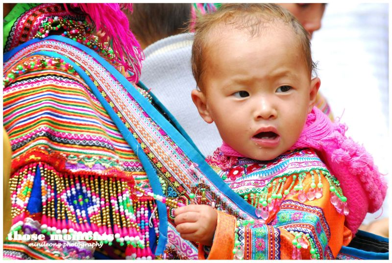 Flower Hmong Baby