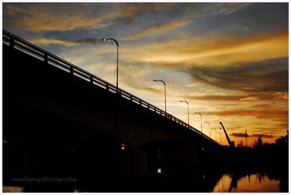 sunset on sarawak river cruise