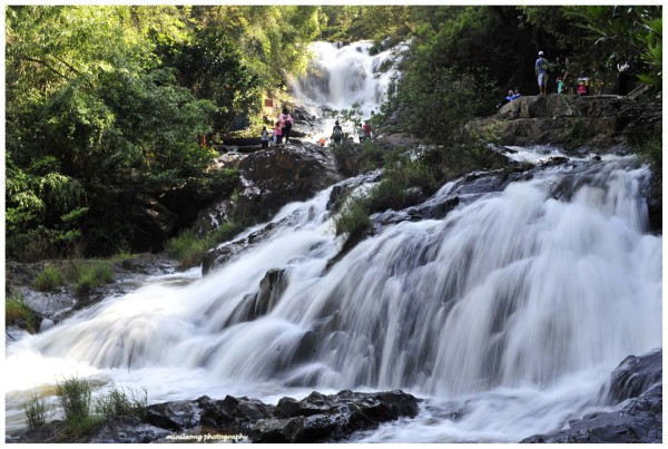 Than Ta Ls Waterfall, Dalat, Vietnam