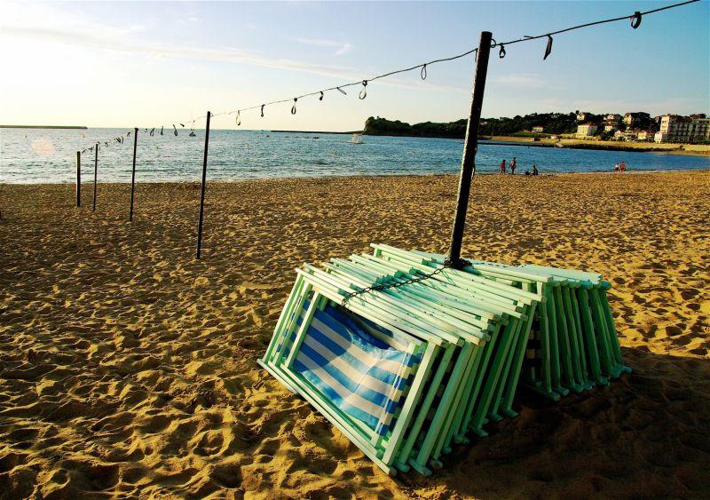 La plage est finie