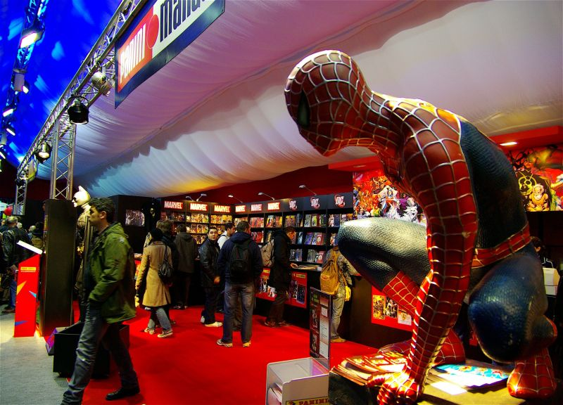 Comics heroes # 1 - Spiderman