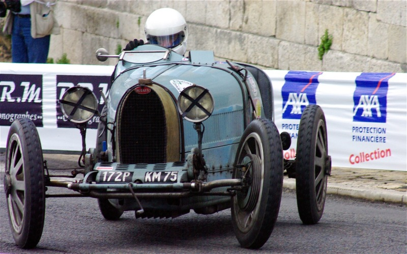 Bugatti encore verte !