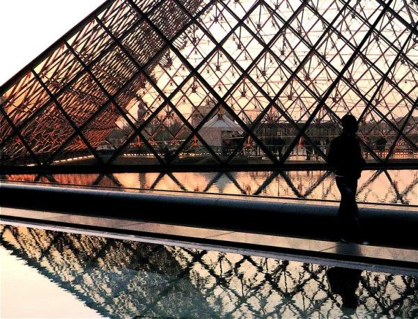 Entre chien et Louvre