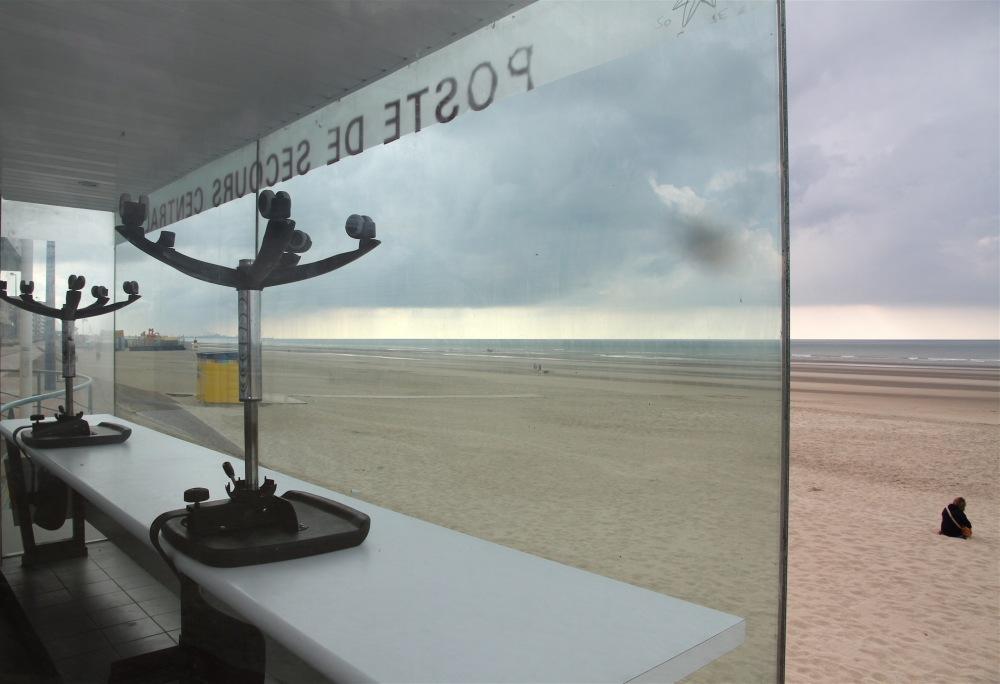 Sur la plage de Bray-Dunes