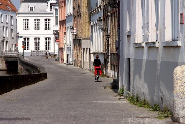 Cyclistes à Bruges