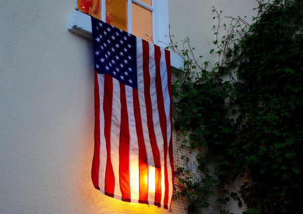 Stars and Stripes en clair-obscur...