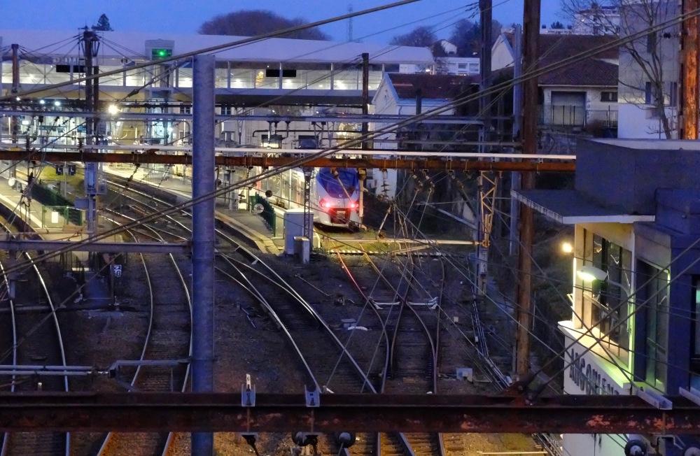 Crépuscule ferroviaire