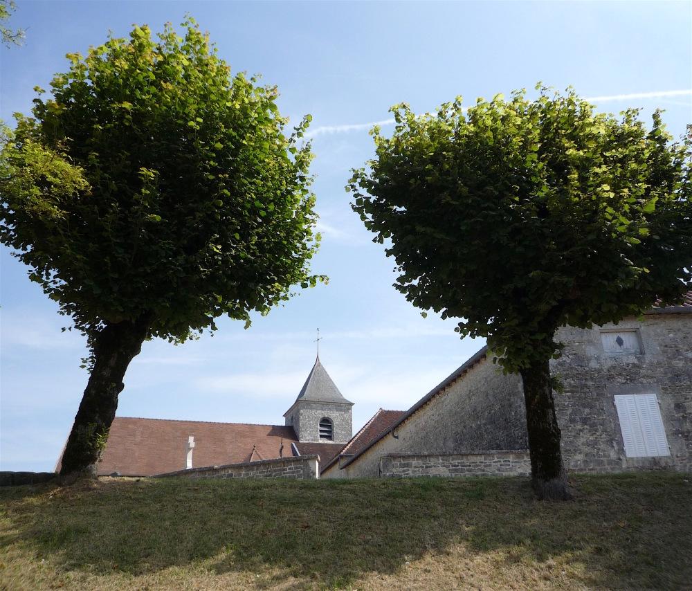 Le clocher de Colombey