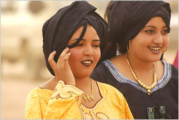 Portraits, femmes, Sahara, Ahaggar