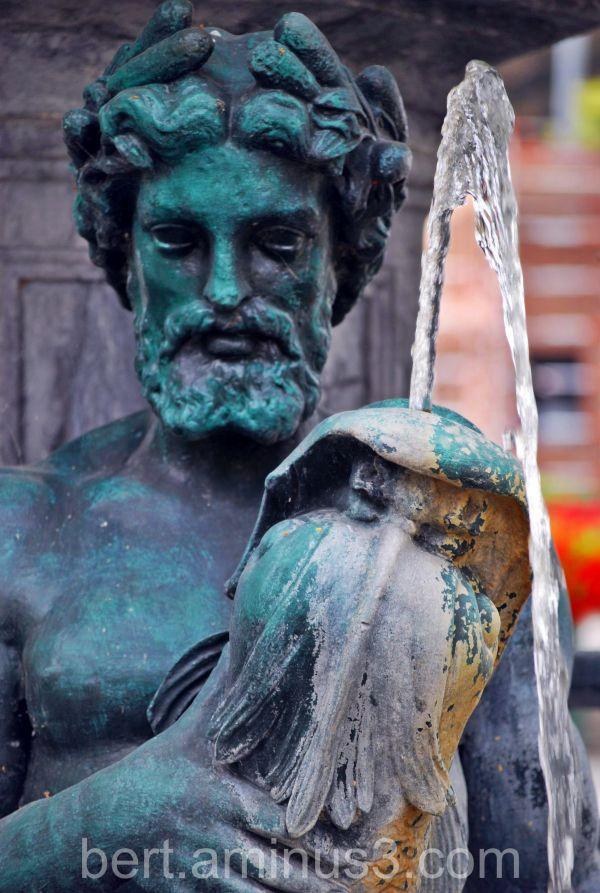 Drink divine water...