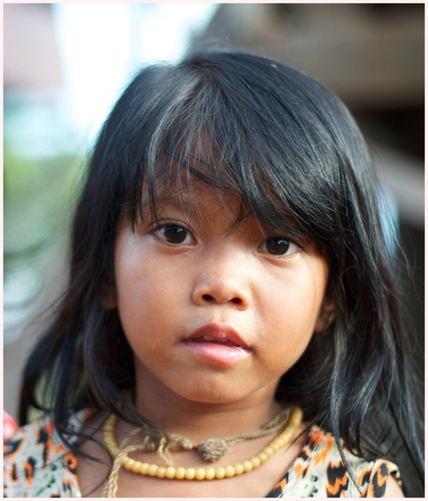 Little Cambodian girl
