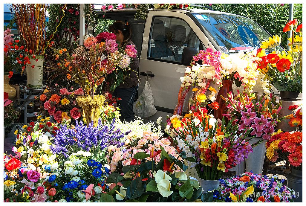 Bloemenmarkt - Flowermarket