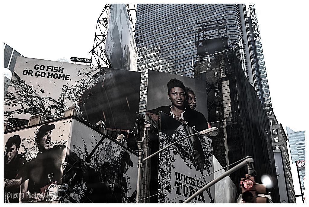 New York 3 Billboards