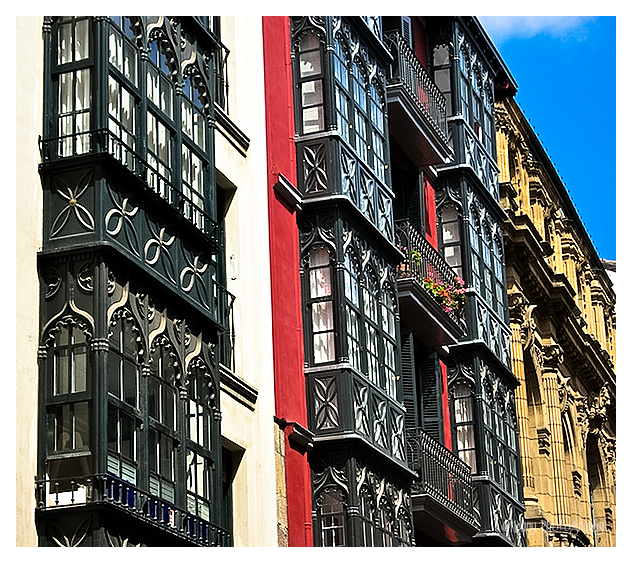 Bilbao oude stadsdeel