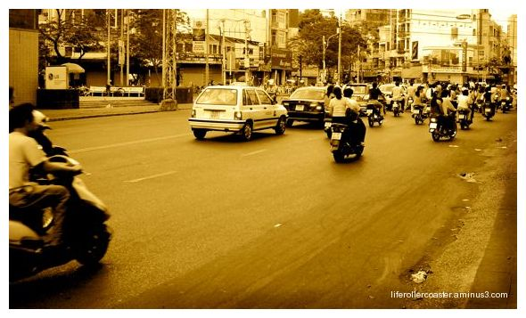 Ho Chi Minh city - Saigon Vietnam