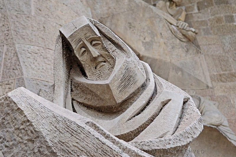 Sagrada Família, a close look.