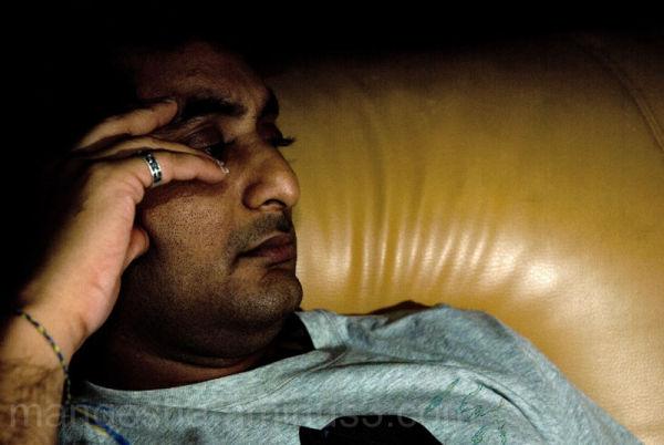 Arun watching a Japanese crime series: D