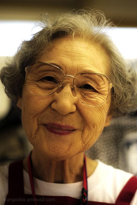 nude elderly japanese women