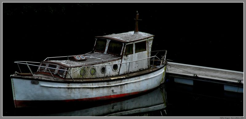Barco solitário