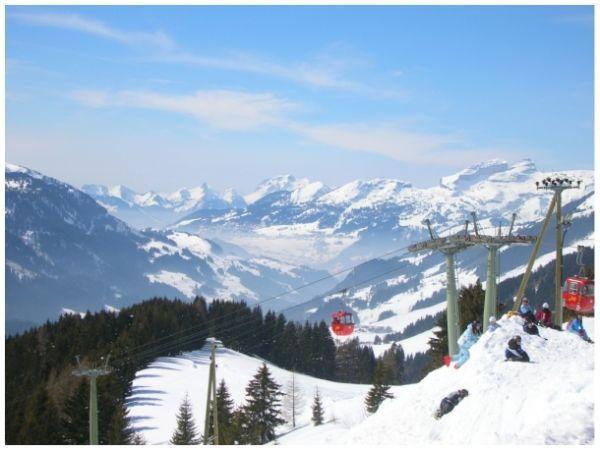 Skiing au Diablerets